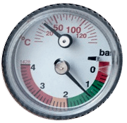 Remeha Tzerra M 24c-28c-39c-manometer