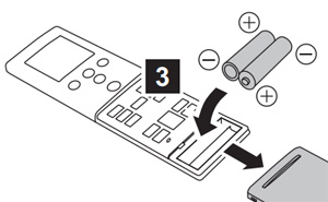 Fujitsu–KMTA-batterijen-vervangen-remote