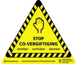 Koolmonoxide - Ventileer - Contoleer - Alarmeer