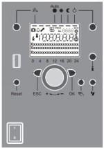 Atag QR-serie - Bedieningspaneel