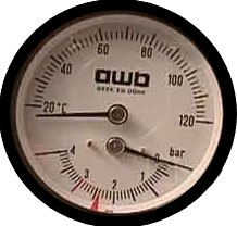 AWB Thermomaster 23.29wt - manometer
